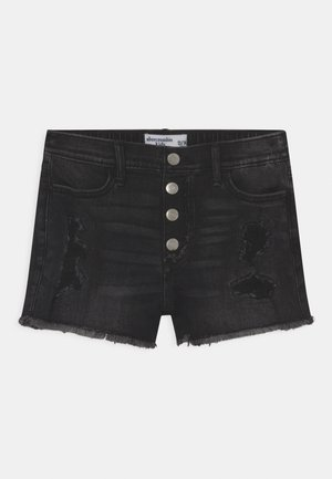 FASHION - Jeans Shorts - black