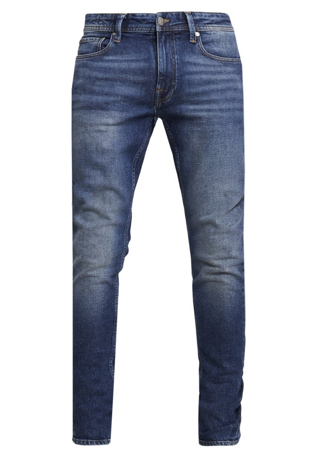 JAN - Slim fit jeans - donker steen