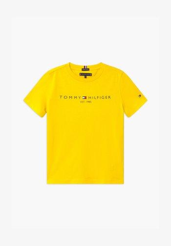 ESSENTIAL LOGO UNISEX - Print T-shirt - yellow