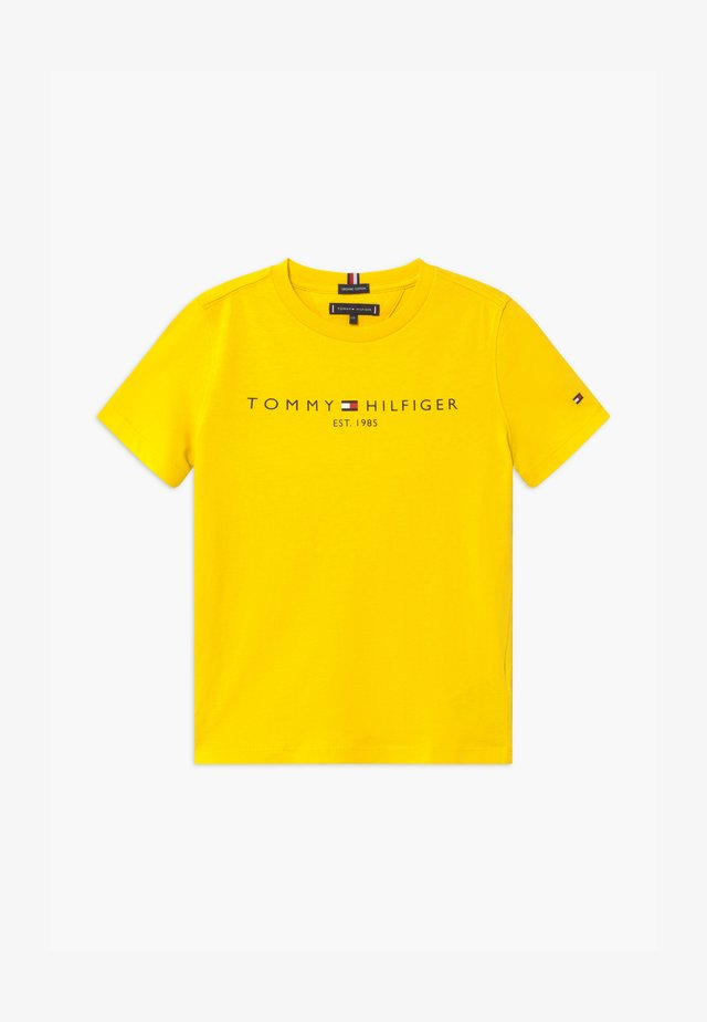 ESSENTIAL TEE UNISEX - T-shirt con stampa - yellow