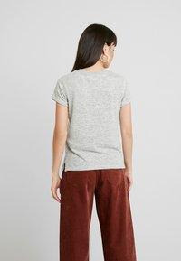 Abercrombie & Fitch - COZY LOGO TEE - Print T-shirt - grey - 2