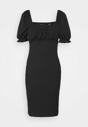VMNINA SHORT DRESS - Vestido de tubo - black