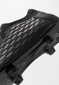 Puma - FUTURE 5.4 FG/AG - Moulded stud football boots - black/asphalt - 5