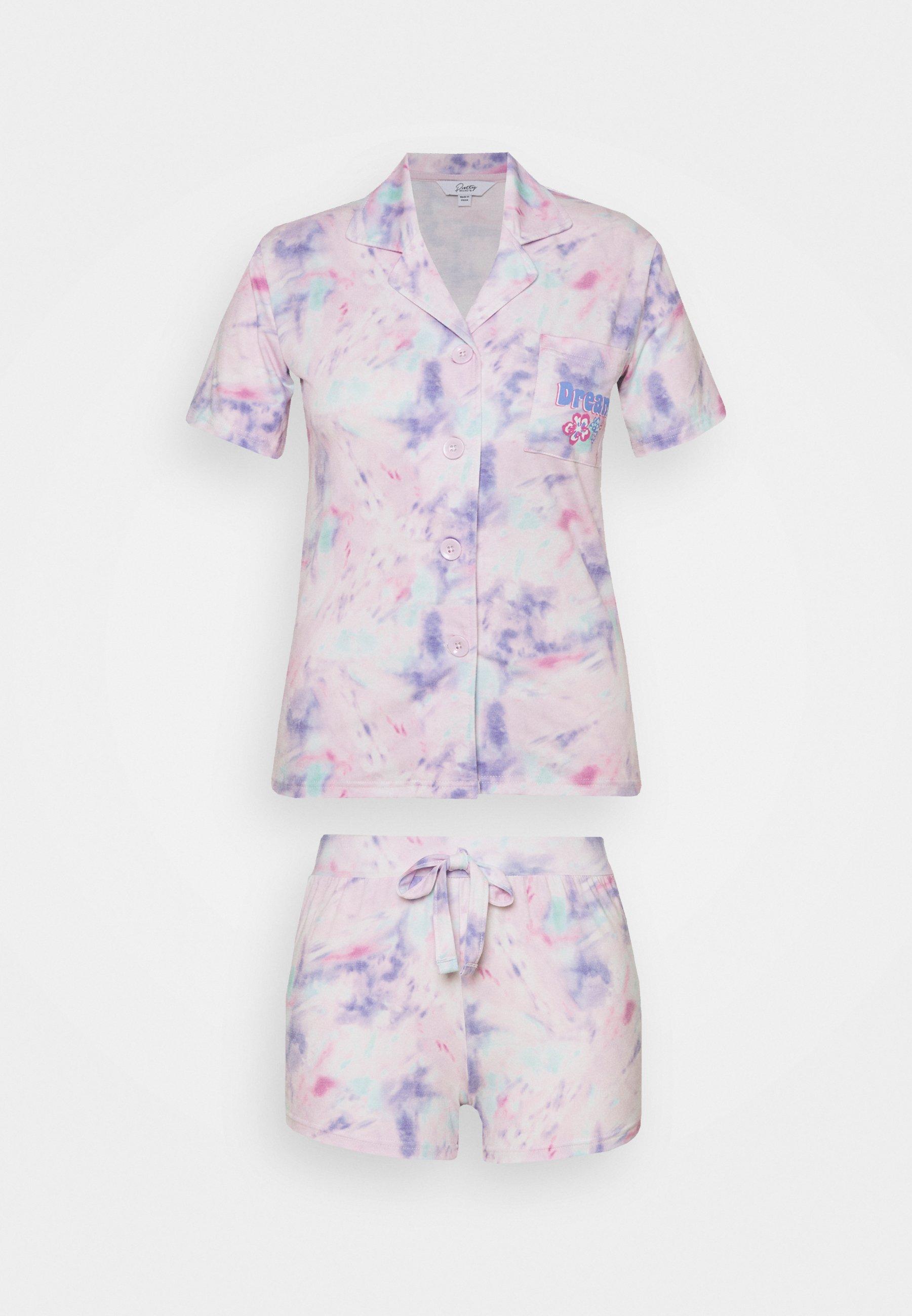 Damen PRETTY SECRETS BUTTON THROUGH SHORTIE - Pyjama
