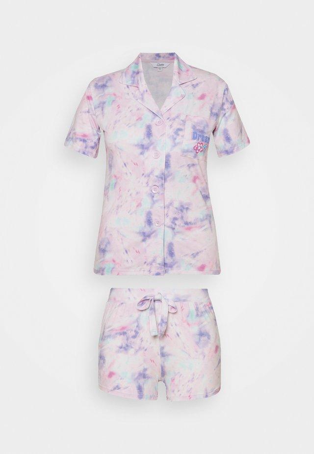 PRETTY SECRETS BUTTON THROUGH SHORTIE - Pijama - multi-coloured