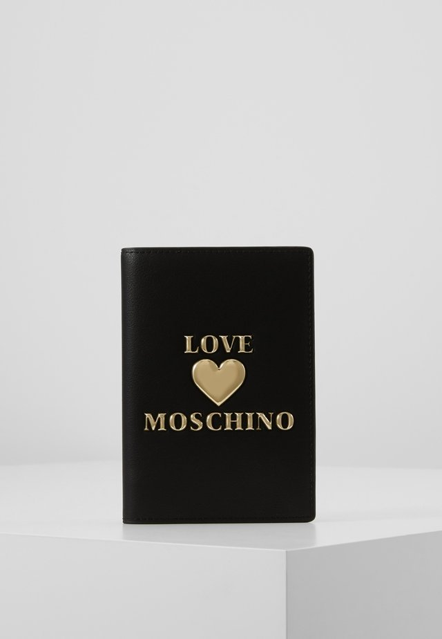 PORTAFOGLI - Passport holder - black