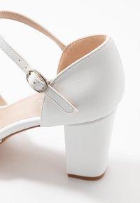 Anna Field - Escarpins à plateforme - white - 2
