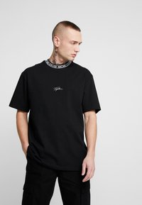 Topman - TEE - T-shirt con stampa - black - 0