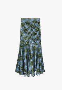Uterqüe - A-line skirt - green - 5
