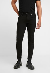 Denim Project - Jeansy Skinny Fit -  black - 0