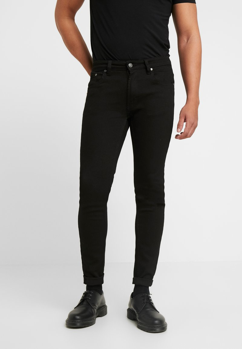 Denim Project - Jeansy Skinny Fit -  black