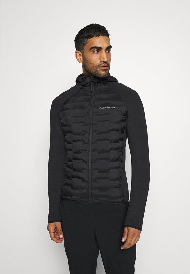 ARGON HYBRID HOOD - Outdoorová bunda - black