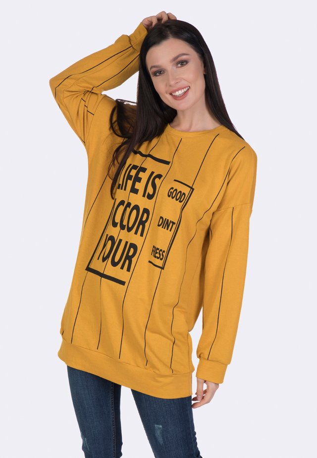 Sweater - mustard