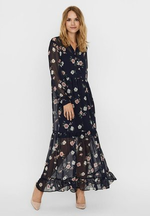 VMTALLIE - Maxi dress - navy blazer