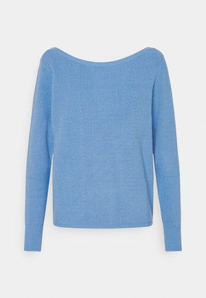 JILLI BOATNECK - Jumper - lake blue