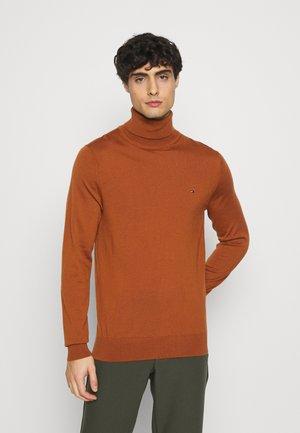 FINE GAUGE LUXURY ROLL  - Pullover - burned orange