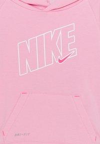 Nike Sportswear - DRI FIT FULL ZIP HOODIE AND JOGGERS SET - Trainingspak - pink heather - 3