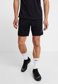 Nike Performance - DRY SHORT  - Träningsshorts - black/wolf grey/anthracite - 0