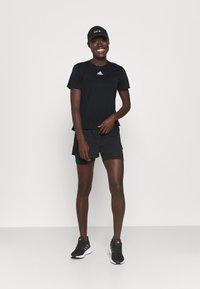adidas Performance - TEE H.RDY - Camiseta estampada - black - 1