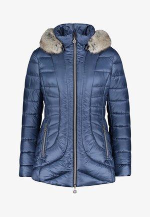 MIT ABNEHMBARER  - Gewatteerde jas - dark denim