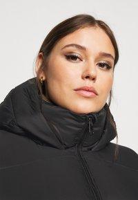 Vero Moda Curve - VMUPSALA LONG JACKET  - Winter coat - black - 3