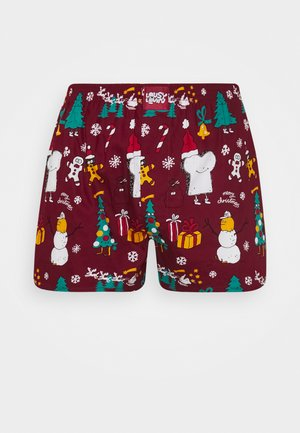 MERRY MERRY - Boxer shorts - burgundy