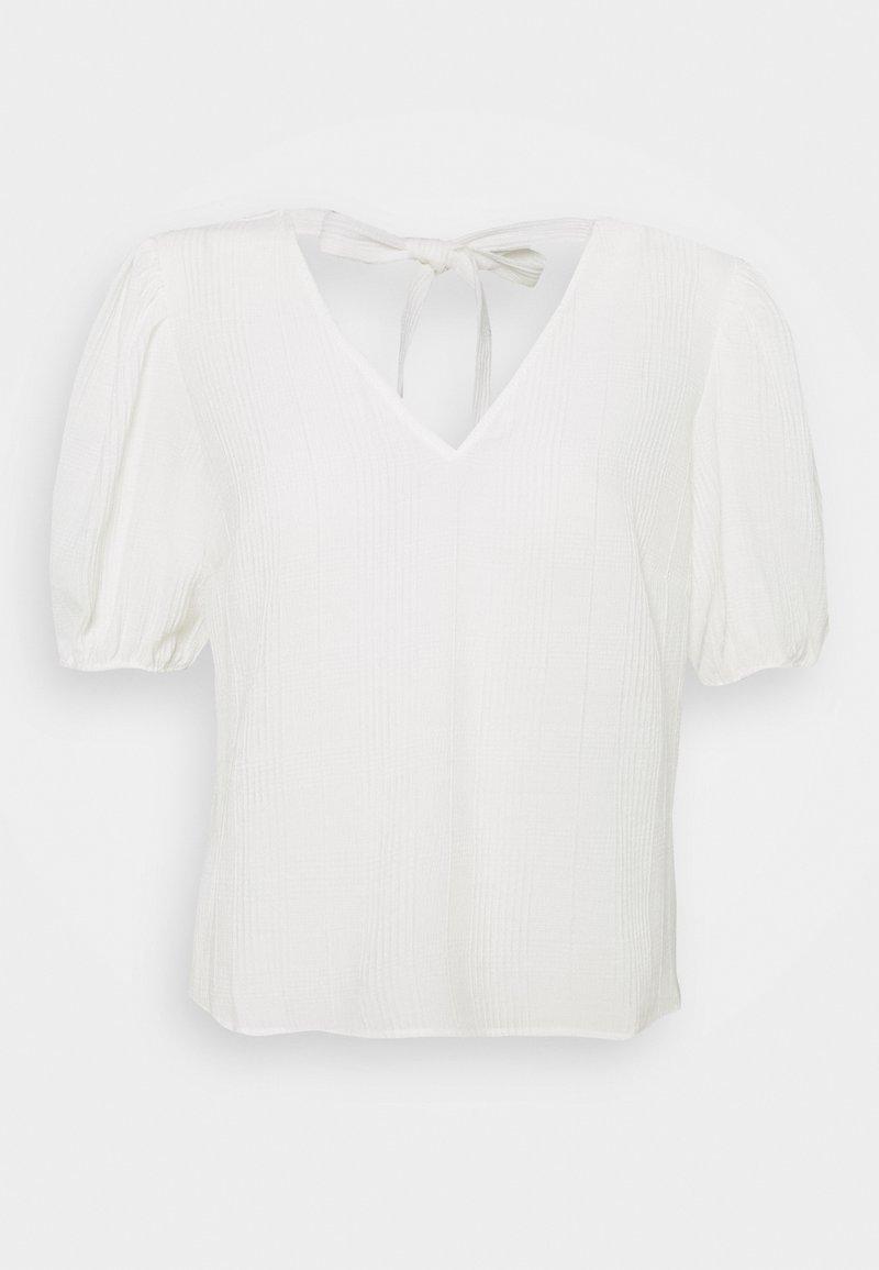 Object - OBJYASMINA - T-shirt print - cloud dancer