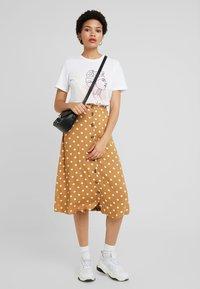 Minimum - SKIRT - A-line skirt - tobacco brown - 1