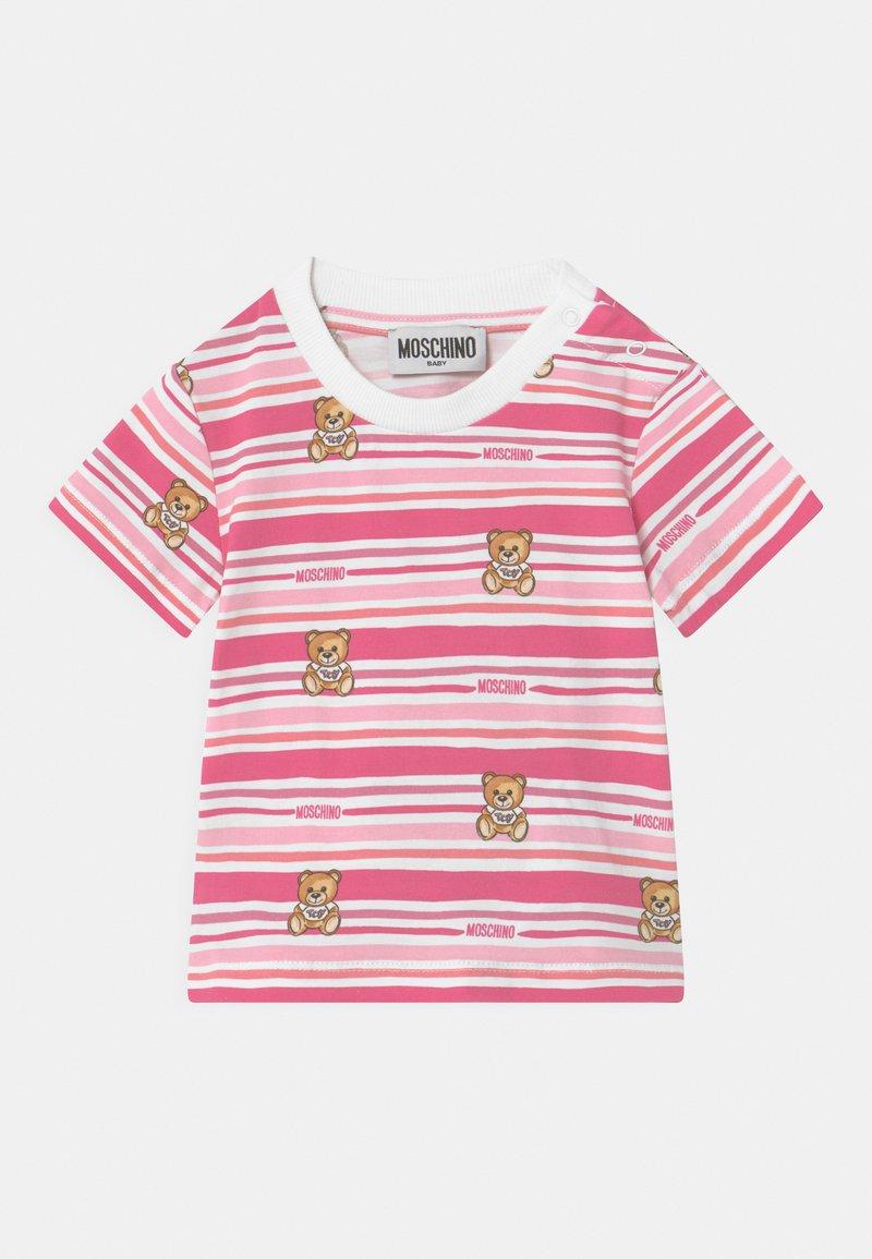 MOSCHINO - Printtipaita - pink