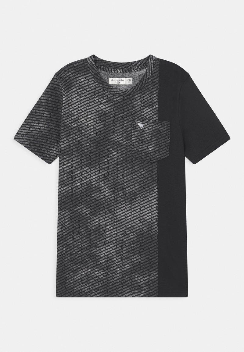 Abercrombie & Fitch - NOVELTY PATTERN - Print T-shirt - black