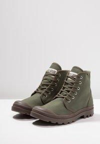 Palladium - PAMPA HI ORIGINAL - Lace-up ankle boots - olive night/black - 2