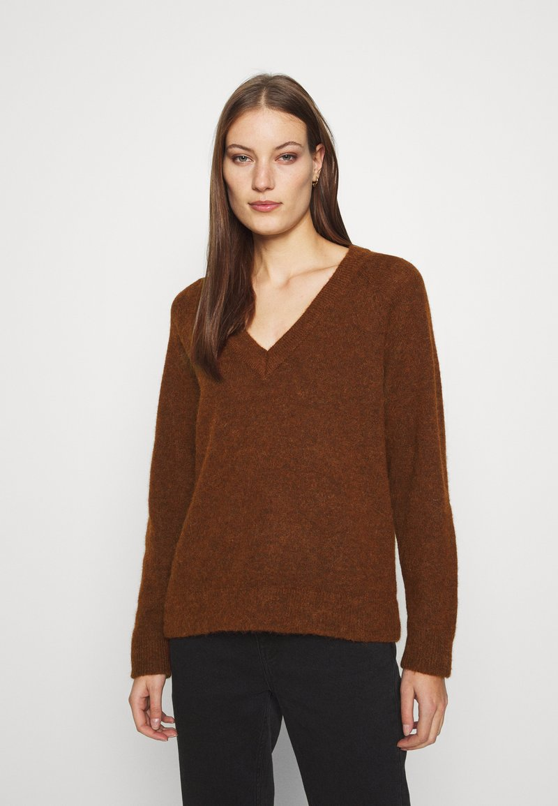 Selected Femme - Jumper - bordeaux