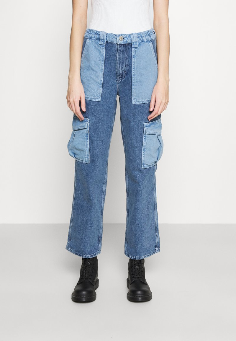 BDG Urban Outfitters - PATCH SKATE - Jeans relaxed fit - bleach