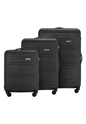 SET - Luggage set - schwarz