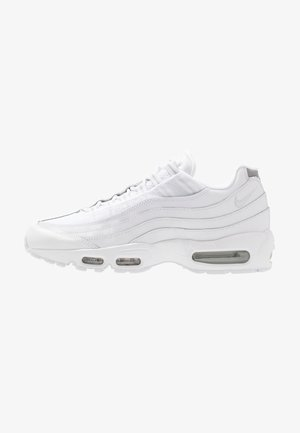 AIR MAX 95 ESSENTIAL - Trainers - white/pure platinum/reflect silver/black