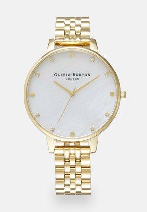 CLASSICS - Hodinky - gold-coloured/white