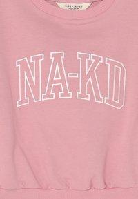 KIDS by NA-KD - ORGANIC PRINTED CREWNECK - Sudadera - dusty rose - 2