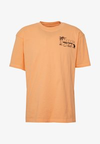 Edwin - ONE THE ROAD - T-shirt con stampa - cantaloupe - 3