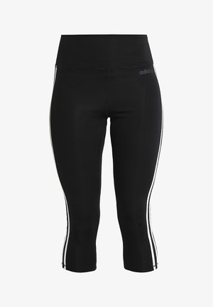 Träningsshorts 3/4-längd - black