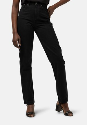 Straight leg jeans - dip black