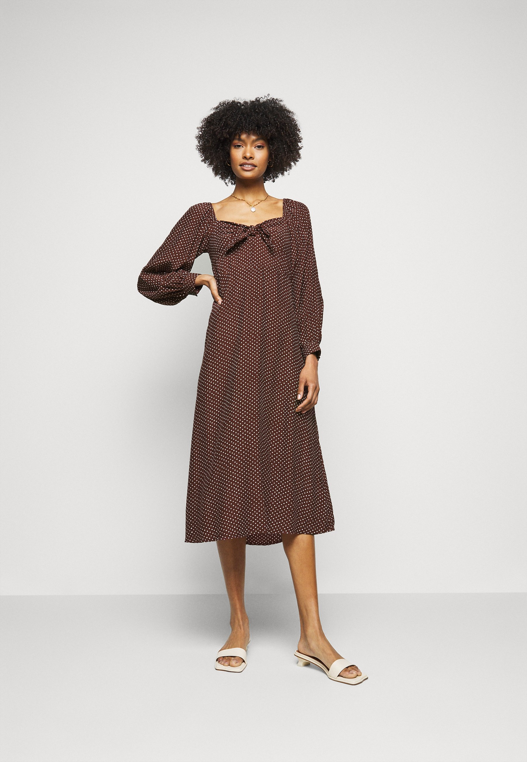 Women TANGERINA MIDI DRESS - Day dress