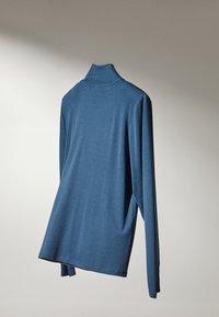 Massimo Dutti - Bluzka z długim rękawem - blue - 4