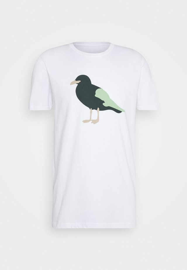 GULL - T-shirt con stampa - white