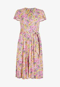 Boden - Jersey dress - pink, sommerliches paisleymuster - 4