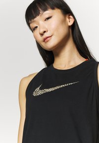 Nike Performance - DRY TANK LEOPARD - Funktionsshirt - black - 3
