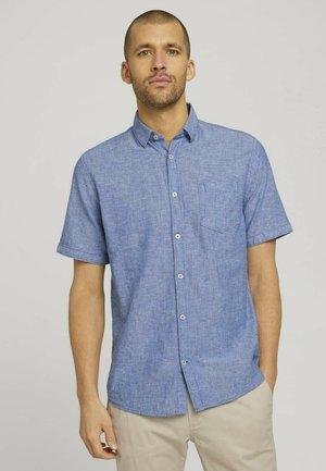Shirt - helsinki night blue chambray