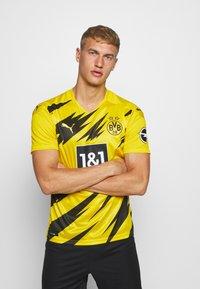 Puma - BVB BORUSSIA DORTMUND HOME REPLICA - Club wear - cyber yellow/black - 0