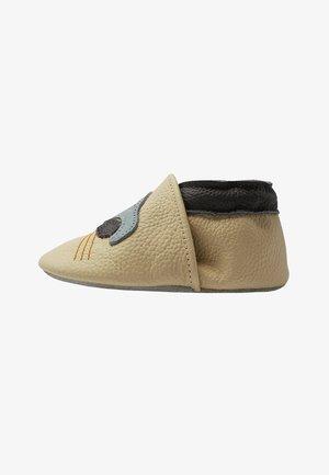 BABY   LAUFLERNSCHUHE AUS ECHTEM - First shoes - beige