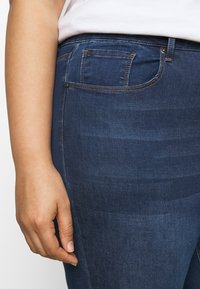 Simply Be - HIGH WAIST - Jeans Skinny Fit - indigo - 4
