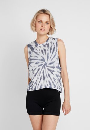 FP MOVEMENT LOVE TANK TIE DYE - Top - blue/white